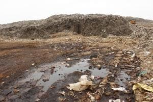 Bandhwari residents say that the landfill has become a major public health issue for the area.