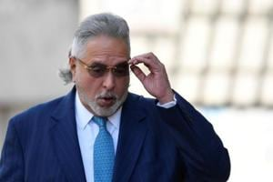 File photo of  Vijay Mallya arriving at Westminster Magistrates Court in London, Britain on March 16.