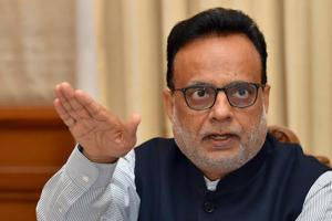 "The other challenge in the first year of GST implementation was in plugging an ""information gap"", says finance secretary Hasmukh Adhia."
