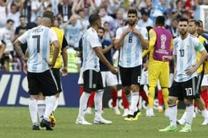 Argentina were defeated by France in their FIFAWorld Cup 2018 Round of 16 encounter on Saturday.