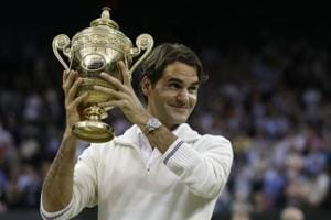 Roger Federer is aiming for his ninth title at the Wimbledon.