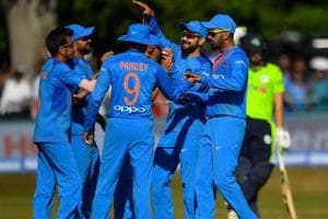 The Indian cricket team will take on England in the first of three Twenty20 Internationals at Old Trafford on Tuesday.