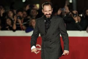 Actor Ralph Fiennes poses for photographers. (AP Photo/Andrew Medichini)
