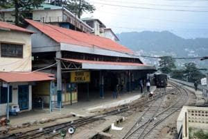The Shimla railway station's new look will be a blend of the British architecture and the traditional Dhajji style, which uses both stones and wooden logs.