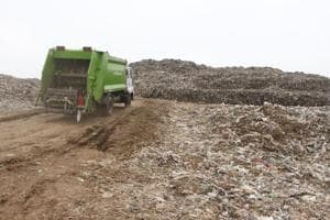 Photos: Gurugram's Bandhwari landfill raises health and social concerns