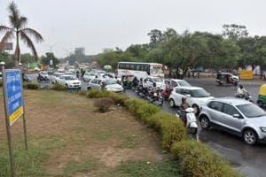 Atul Kataria chowk connects Gurugram's bus stand with Delhi airport via Kapashera.