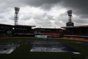M. Chinnaswamy Stadium in Bengaluru , outside which two bombs exploded and the third was defused on April 17, 2010.