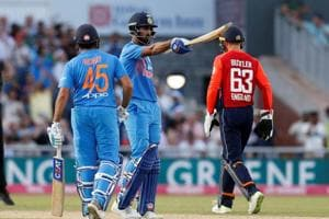 KL Rahul's unbeaten 101 helped India beat England by eight wickets in Manchester to take a 1-0 lead in the three-match T20 series. Follow highlights of India vs England, 1st T20 in Manchester here