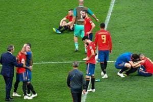 Spain were eliminated from FIFA World Cup 2018 by Russia on penalties.