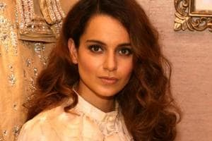 Kangana Ranaut got a scar on her forehead while practising sword fighting on the sets of Manikarnika.