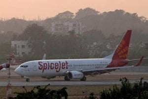 All the passengers on-board were safe, a SpiceJet spokesperson said.