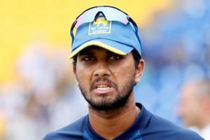Sri Lanka's Dinesh Chandimal  has been named in squad for the two Tests against South Africa.