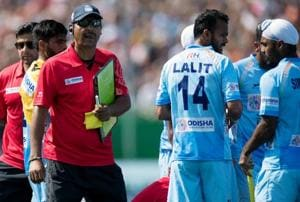Harendra Singh took over Indian men's hockey team coach's mantle from  Sjoerd Marijne,