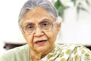 Sheila Dikshit was the chief minister of Delhi for three terms between 1998 and 2013.