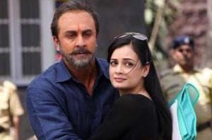 Ranbir Kapoor and Dia Mirza in a still from Sanju.