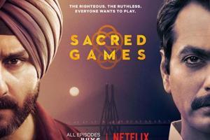 Sacred Games is directed by Anurag Kashyap and Vikramaditya Motwane.