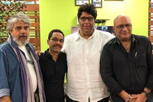 CINTAA committee members Suneel Sinha, Vrajesh Hirjee, Siddharth Sikka and Amit Behl