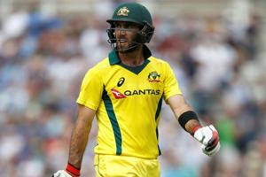 Glenn Maxwell guided Australia over the line in the sixth T20 of the tri-series against Zimbabwe on Friday.