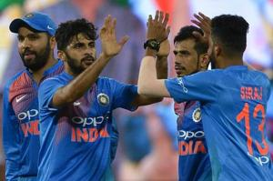 Shardul Thakur (C) has so far played three ODIs and seven T20s for Indian cricket team.