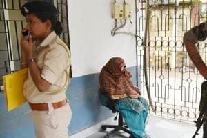 After the arrest Sister Koshleniea the in-charge of Nirmal Hriday a Missionaries of Charity run shelter home on her alleged involvement in selling a new born baby boy at Civil court in Ranchi.