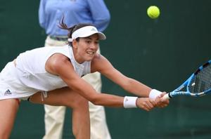 Champion Muguruza knocked out in Wimbledon Round 2, Wawrinka exits too