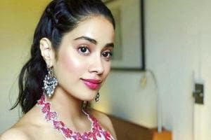 Janhvi Kapoor was the definition of spring chic in a pretty skirt and crop top, while promoting her debut film Dhadak in Pune. (Instagram)