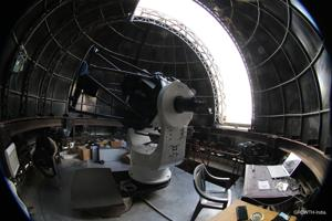 It will be a couple of months before the bot takes over the Hanle telescope completely; there are still technicians on site to calibrate. But already, a pre-programmed sequence can remotely open the dome, aim the scope and record relevant data as observers check in from around the world.