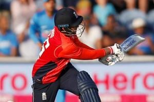 Get highlights of India vs England, 2nd Twentyy20 from Cardiff here. England secured a five-wicket win thanks to Alex Hales's 58*.