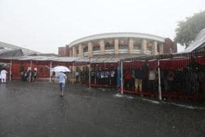 Heavy rain in Nagpur forced the state to cancel its Assembly session on Friday.
