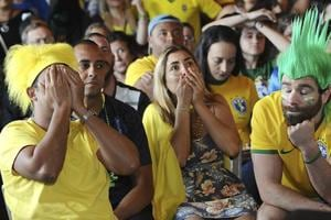 FIFA World Cup: Brazilian fans left dejected after team crashes out in quarters