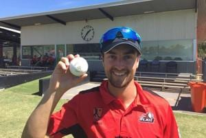 The new 'Turf20' ball was used in a blind test in the Northern Territory Strike competition last weekend.