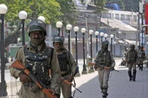 Separatists had given a call for strike on Sunday across Kashmir on the second death anniversary of  Hizbul commander Burhan Wani.