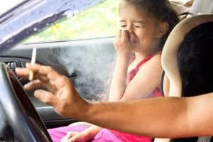 Children are at a two per cent higher risk of snoring for every cigarette smoked at home daily.