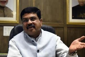 Union minister of Petroleum and Natural Gas Dharmendra Pradhan did not offer a specific comment on whether India would reduce its dependence in the backdrop of US indications that sanctions would not apply to such countries