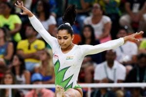 Dipa Karmakar won the gold medal at the Artistic Gymnastics World Challenge Cup on Sunday.
