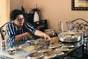 Gurugram resident Sameera Satija's initiative allows people to borrow steel crockery, and cut down on the use of disposable utensils.