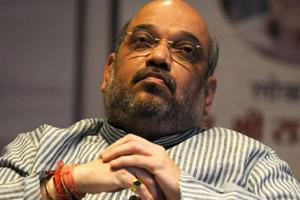 BJP president Amit Shah was stuck in a lift for around 20 minutes after it malfunctioned, in August 2015.