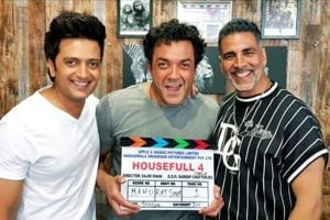 Akshay Kumar starts shooting for Housefull 4 with Bobby Deol, Riteish Deshmukh- See pic