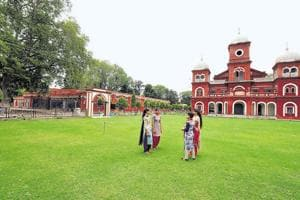 The close ties of the Kapurthala royalty with France is reflected in the architecture. Evening classes in photography and short-hand were started in 1935.