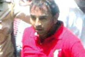A sessions court in Mumbai last month charged gangster Vijay Palande (in photo) and his associate Jagdish Kailash Shejav for the murder of the unknown person in 2012.