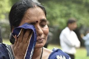 Mother of the 23-year-old woman gangraped in Delhi on December 16, 2012,reacts to Supreme Court