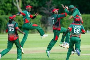 Kenya scored a mind-boggling 270/6 in their allotted 20 overs against a hapless Rwanda cricket team.