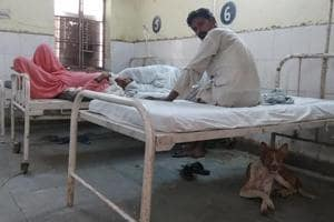 The Kaman community health centre (CHC) is the largest health centre in the Mewat region and has 50 beds.