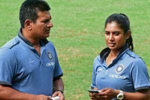 Indian women's cricket team coach Tushar Arothe resigned on Tuesday.