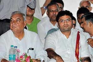 The Haryana Congress is a divided house with rampant infighting to become state party chief.