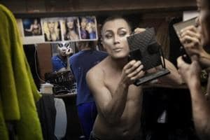 Photos: Russian drag stars leave fears of persecution backstage
