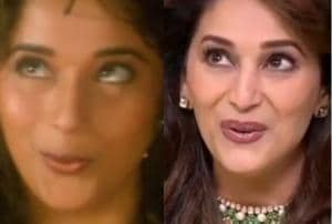 Madhuri Dixit remembers all these steps by heart.