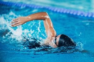 Swimming for weight loss: Half an hour of swimming can optimise weight loss as it can burn 350 calories.