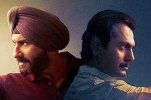Saif Ali Khan and Nawazuddin Siddiqui face-off in Netflix's Sacred Games.