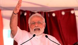 Prime Minster Narendra Modi addressing gathering in  Punjab. PM Modi will begin his two-day Uttar Pradesh tour on Saturday.